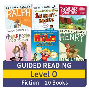 Guided Reading Collection: Level O Fiction (20 books)
