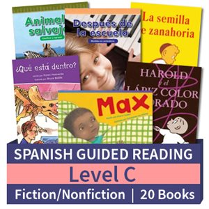 Guided Reading Collection: Spanish Level C Complete (20 Books)