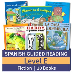 Guided Reading Collection: Spanish Level E Fiction (10 Books)
