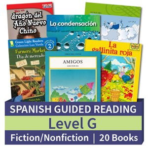Guided Reading Collection: Spanish Level G Complete (20 Books)