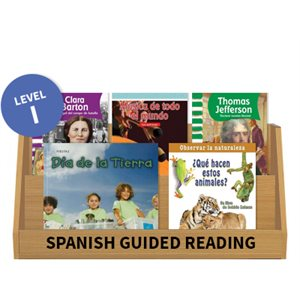 Guided Reading Collection: Spanish Level I Nonfiction (10 Books)