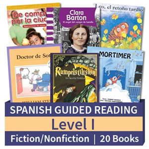 Guided Reading Collection: Spanish Level I Complete (20 Books)
