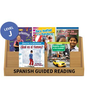 Guided Reading Collection: Spanish Level J Nonfiction (10 Books)