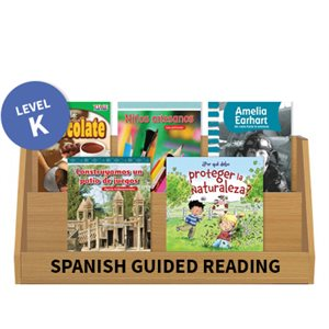 Guided Reading Collection: Spanish Level K Nonfiction (10 Books)