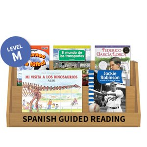 Guided Reading Collection: Spanish Level M Nonfiction (10 Books)