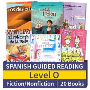 Guided Reading Collection: Spanish Level O Complete (20 Books)