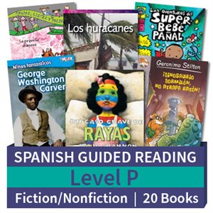 Guided Reading Collection: Spanish Level P Complete (20 Books)