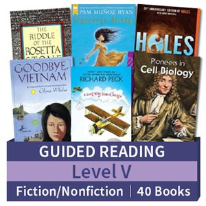 Guided Reading Collection: Level V Fiction and Nonfiction Combo (40 books)