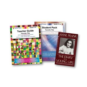 Anne Frank: Diary of a Young Girl Teach and Learn Collection (3 bk set)