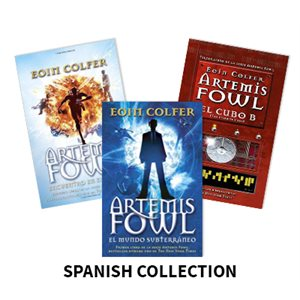 Artemis Fowl (3 Bk Set) Spanish