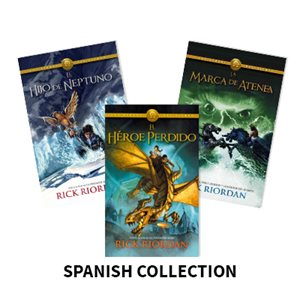 Los Héroes del Olimpo (The Heroes of Olympus) (7 Bk Set) Spanish
