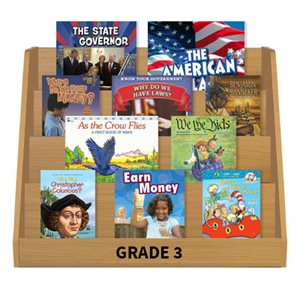 Social Studies Leveled Reading Collection - Grade 3 (60 Bk Set)