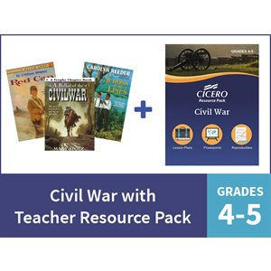 Civil War with Teacher Resource Pack - Grades 4-5 (10 Items)