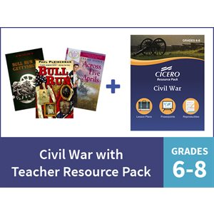 Civil War with Teacher Resource Pack - Grades 6-8 (7 Items)
