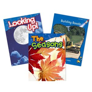 NGSS First Grade- Space Systems:: Patterns and Cycles 4 Book Collection