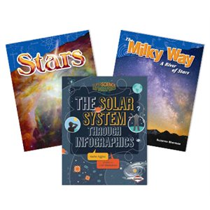 NGSS Fifth Grade- Space Systems:: Stars and the Solar System 4 Book Collection