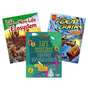 NGSS Fifth Grade- Matter and Energy in Organisms and Ecosystems 4 Book Collection