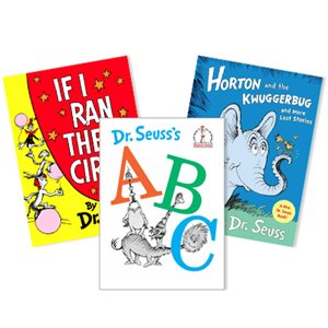 Dr. Seuss Thematic Units - Writing (4 Books)