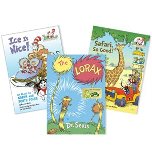 Dr. Seuss Thematic Units - Geography & Environment (11 Books)