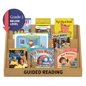Guided Reading Collection: Grade 1 Below Level (20 Books)