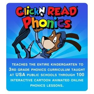 Cicero Click N Read Phonics 10 Students 1 Year Subscription
