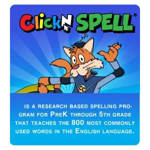Click N' SPELL Additional Students (10 students, 1 year)