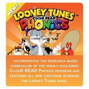 Looney Tunes Click N' READ Phonics Additional Student (1 student, 1 year)