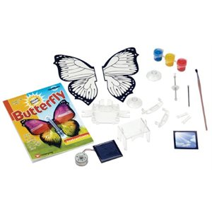 Solar Powered Butterfly                      Limited Qty