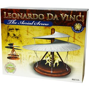 Leonardo da Vinci - Aerial Screw