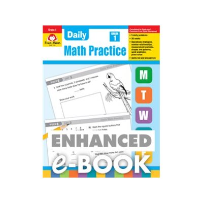 Daily common core math practice grade 1 e book ebook fandeluxe Image collections