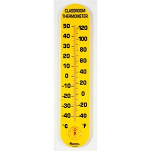 "Classroom Thermometer: 15""H X 3""W"