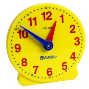 "Big Time™ 5"" Student Clock (12 Hr)"