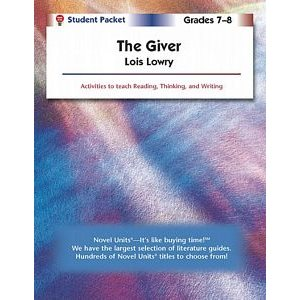 The Giver Student Pack