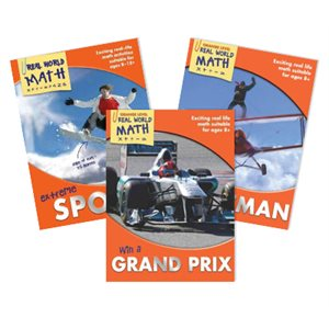 Real World Math - Orange Level (4 Books)