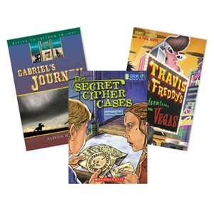 AKJ Action, Adventure, and Mystery Assortment (10 Book Set)