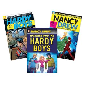 Nancy Drew and Hardy Boys (10 Book Set)
