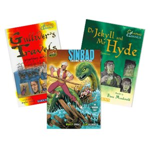 Great Graphic Novels (6 Book Set)