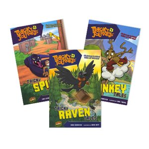 Tricky Animal Tales (4 Bk Set)