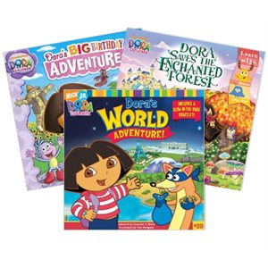 Dora and Diego (6 Books)
