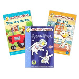 Martha Speaks Early Readers (8 Books)