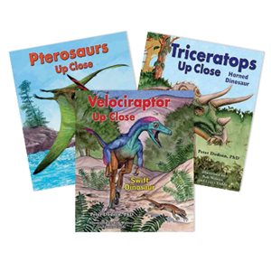 Zoom In on Dinosaurs (8 Books)
