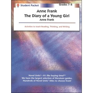 Anne Frank, Diary of a Young Girl Student Pack