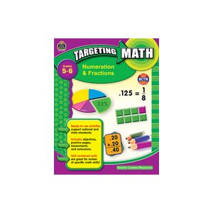 Targeting Math: Numeration & Fractions Grd 5-6 (eBook)