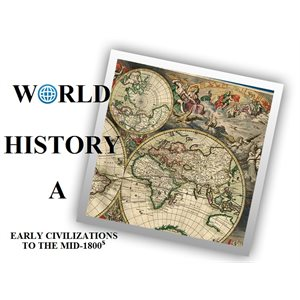 WorldView World History A Classroom Subscription (1 teacher & 15 students, 1 year)