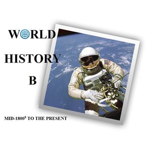 WorldView World History B Classroom Subscription (1 teacher & 15 students, 1 year)