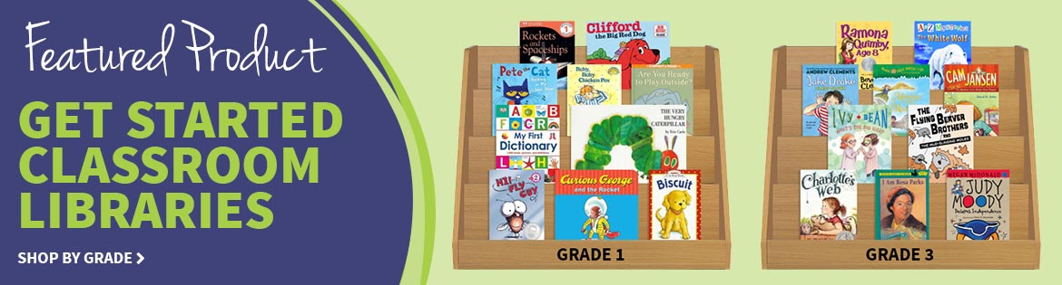 Featured Product: Get Started Classroom Libraries