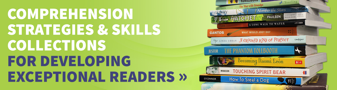 Comprehension strategies and skills to develop exceptional readers
