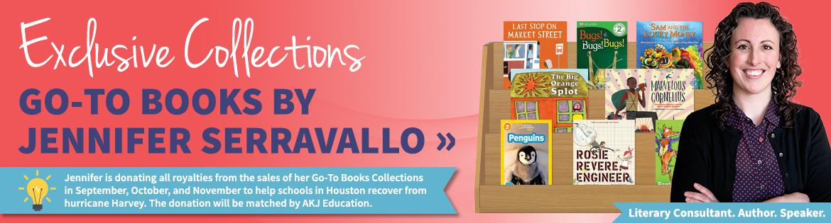 Exclusive collections Go-To Books by Jennifer Serravallo