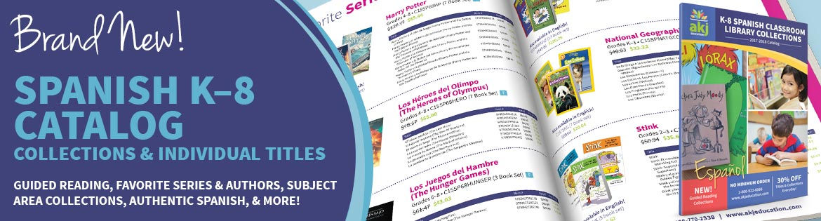 NEW! Spanish K-8 Collections Catalog