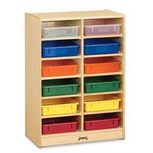 12 Paper-Tray Mobile Storage - with Colored Paper-Trays